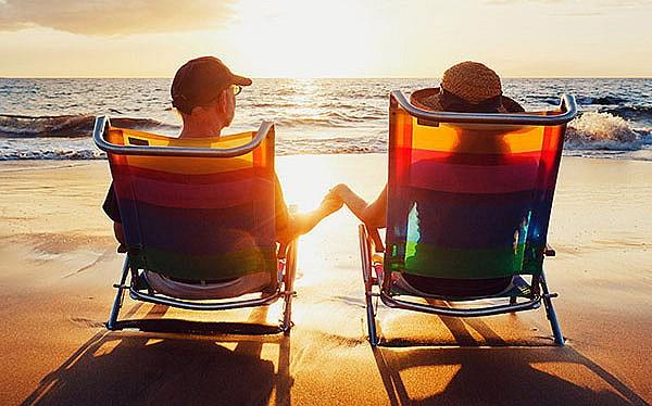 Honeymoon by the beach