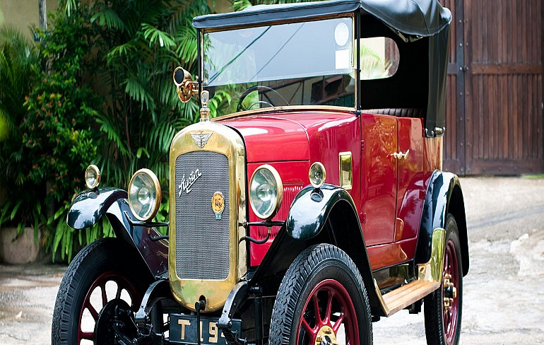 Ride back in time in a 1926 Austin
